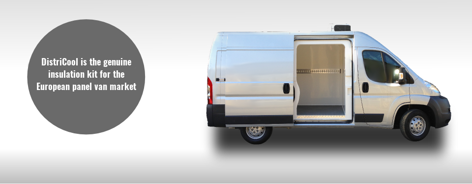 INSULATED REFRIGERATED TRUCK VAN BODY BOXES DISTRICOOL
